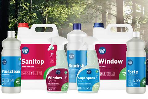 Grøn rengøring – Kiilto Pro er løsningen til en mere bæredygtig hverdag