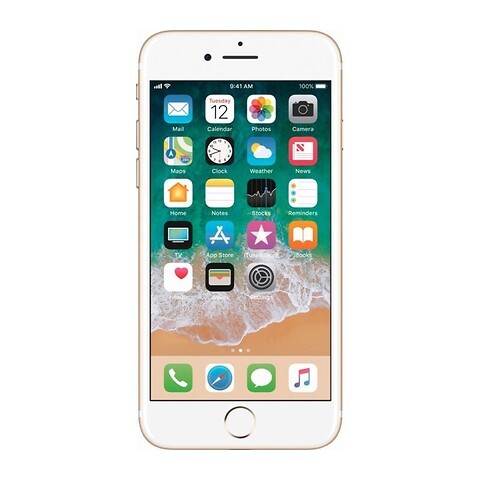 Apple iPhone 7 128GB (Guld) - Grade B - mobiltelefon