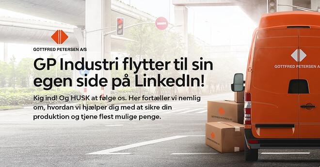 Følg GP INDUSTRI på LinkedIn
