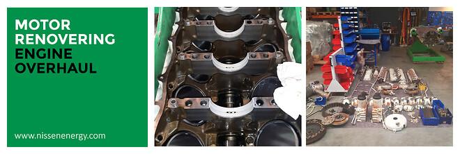 NISSEN Gasmotorrenovering