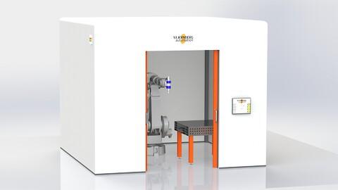 Laserskärcell från Stjernberg Automation