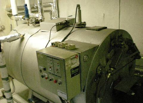 Dampkedel 400 kg/h x 10 bar fra Chr. Møller A/S's Brugtbørs