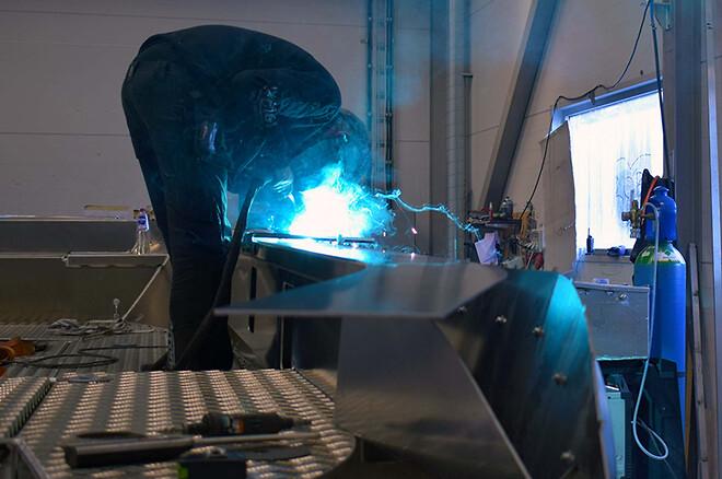 Bättre svetsning i aluminium med argon/helium-blandning