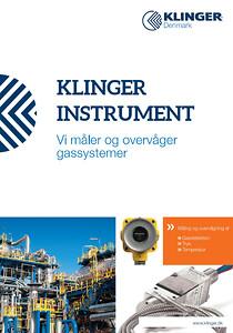 KLINGER - vi måler og overvåger gassystemer