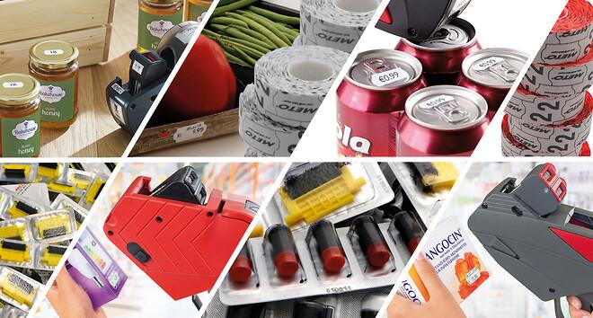 Avery METO produkter för prismärkning