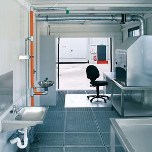 Mobil laboratorie container