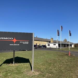 JIMCO hovedkvarter i Rudkøbing på Langeland