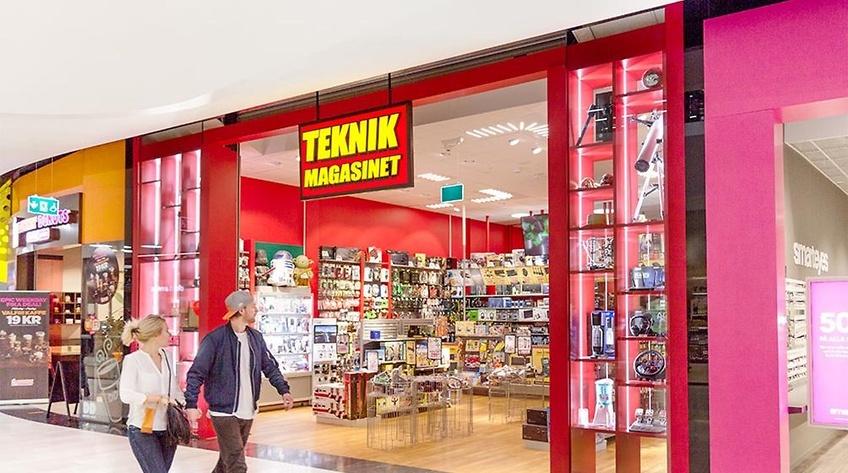 Teknikmagasinet önskar permittera även i svenska butiker