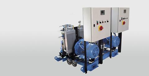 NK høytrykkskompressor fra Goltens - Neuenhauser Kompressorenbau GmbH, Neuenhauser, Compressed Air Systems, luftstartere, luftstartere til dieselmaskiner, luft startere