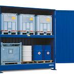 Systemcontainer fra DENIOS