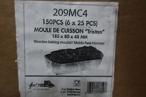300 stk. træ bageform firstpack 209MC4