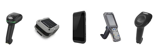 Xenon XP, RP2 mobil printer, ck65 håndterminal og Voyager XP tåler hyppig desinfektion med skrappe rengøringsmidler