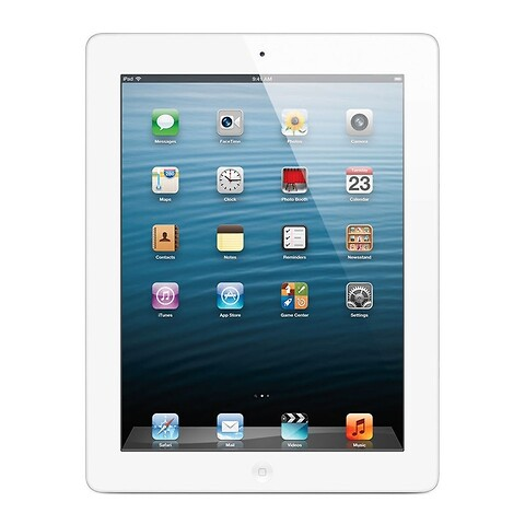 Apple iPad 4 32GB WiFi + Cellular (Hvid) - Grade B - tablet