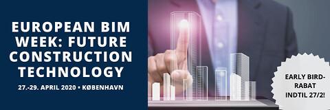 European BIM week: Future construction technology - European BIM week: Future construction technology - Nohrcon - BIM-konference - Building Information Modeling