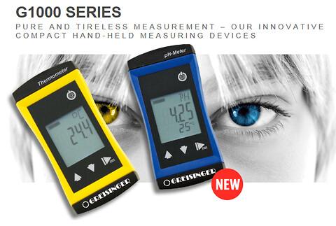 GHM Måleteknik: G1000-serie til pH- og temperaturmåling