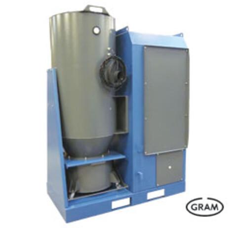 Central støvsugeranlæg til industrien