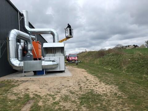 Spånudsugning fra Rosenberg Ventilation - Spånudsugning