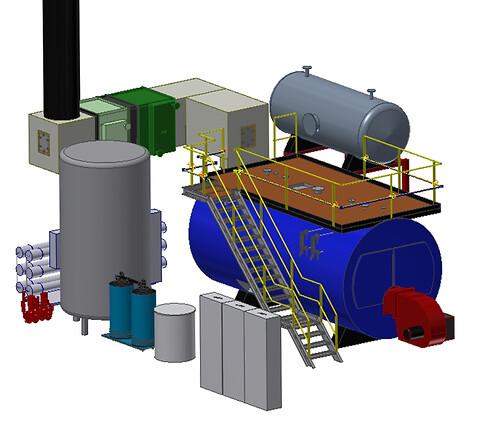 Skal der bruges damp - så har Chr. Møller A/S løsningen