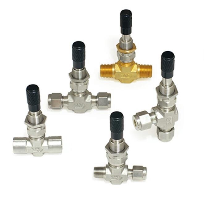 Reguleringsventil mikrometerventil Hy-Lok