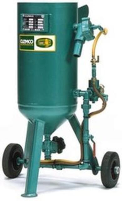 Clemco 20 liters sandblåseapparat fra Vestec