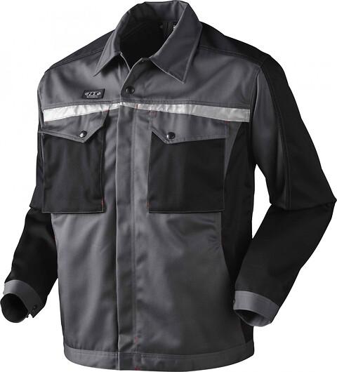 Arbejdsjakke, 9205 - grå/sort