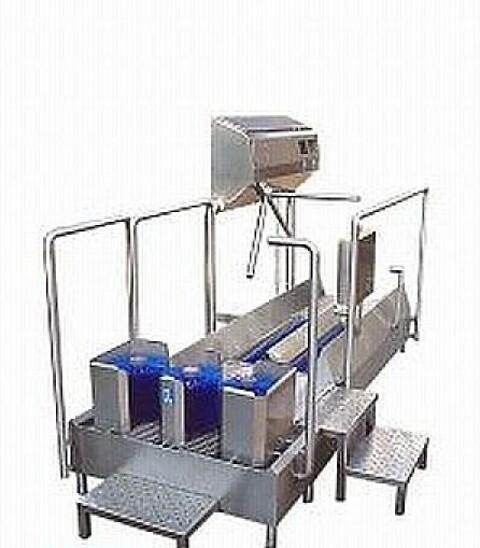 Gennemgangssåle-/støvlevasker Combi - DSC 1100