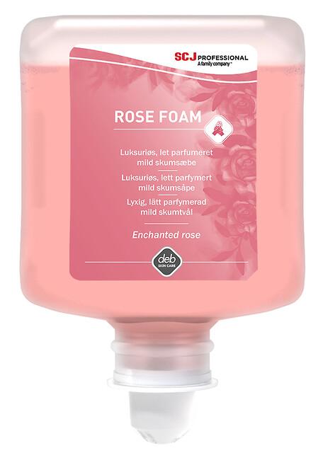 Rose Foam - RFW1L Rose FOAM skumsæbe