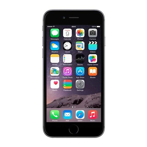 Apple iphone 6S 64GB (space gray) - grade a - mobiltelefon