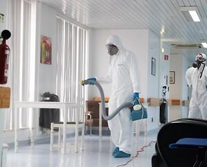 Desinfektion af coronavirus - for en sikkerheds skyld. Det klarer Anticicimex.