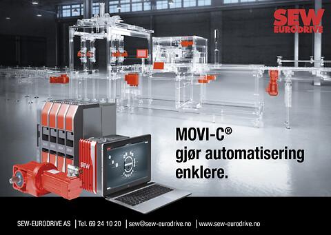 Movi-C modulbasert automatiseringssystem fra SEW-EURODRIVE