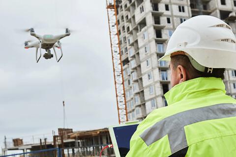 Droner i byggeriet