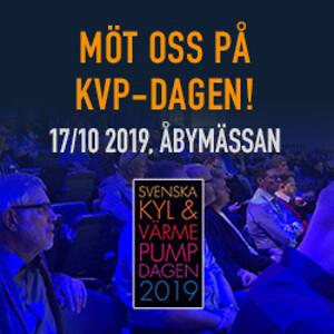 KVP dagen, Svenska mässa, kyl och värmepumpdagen