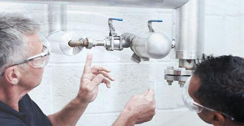 Skal vi hjælpe dig med installation og idriftsættelse af dit dampsystem? - Installation og idriftsættelse af dampsystemer og dampkomponenter