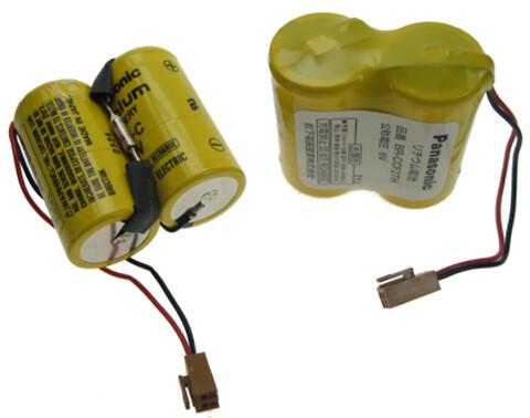 Batteripakker til PLC/CNC-styring fra ACTEC A/S