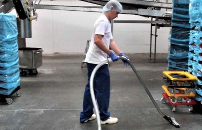 GFF fødevarer, rengøring, støvsuger, centralstøvsuger, fødevaregodkendt rengøringsudstyr