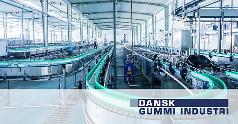 Gummi og polyurethan løsninger til maskinindustrien