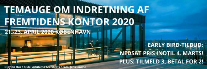Kontorbyggeri - Temauge om indretning af fremtidens kontor 2020 - Nohrcon