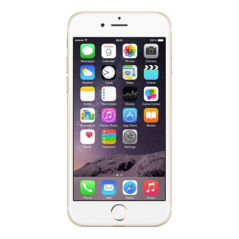 Apple iphone 6S 32GB (guld) - grade a - mobiltelefon
