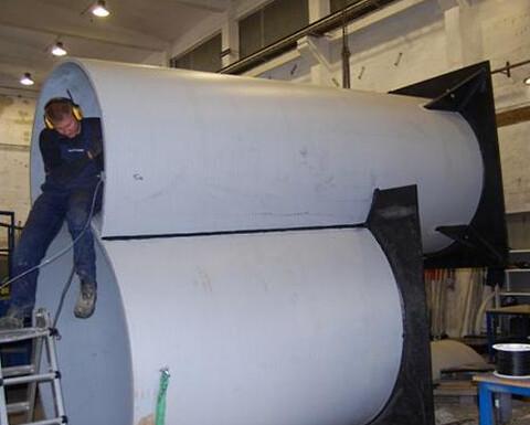 MarSø er specialiseret  i at fremstiller alle former for PE rør og brønde efter kundeønsker.