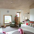 Hvis en bygning skal opnå Nordens officielle miljømærke, skal materialerne bidrage til en lav miljøbelastning. Troldtekt er optaget i Nordisk Miljømærknings database over produkter, der må indgå i svanemærket byggeri. Derfor var Troldtekt akustiklofter et sikkert valg til Børnehuset Regnskoven i Bagsværd, som er en af Danmarks første svanemærkede institutioner