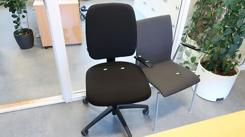Kontorstol samt stol