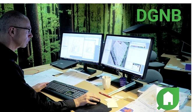 Specialister fra DMR hjælper med data og dokumentation ved DGNB
