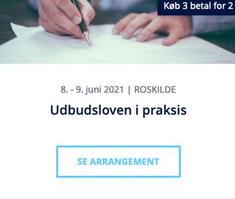 Udbudsloven i praksis - Udbudsloven i praksis - kursus - Nohrcon