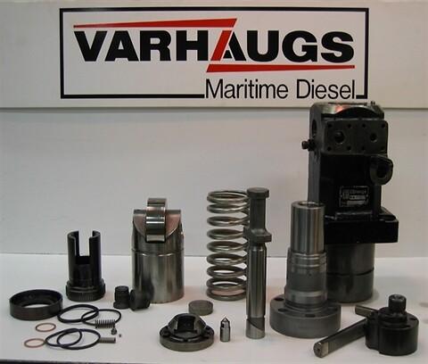 Varhaugs Maritime Diesel overhaler og tester brennstoffpumper