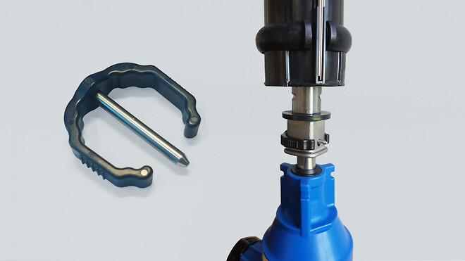 Split til værktøjsfri montering af AVK garniturer til stikledningsventiler