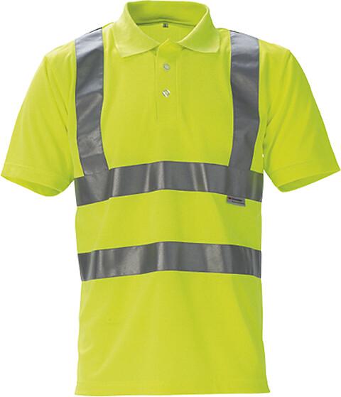 Poloshirt, hi-vis, kl. 2, 11113 - gul