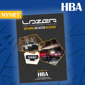 Lazer extraljus passande Toyota även med monteringskit