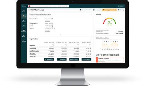 Skærp opmærksomheden med en automatiseret kreditvurdering  - Risika A/S kreditvurdering, platform