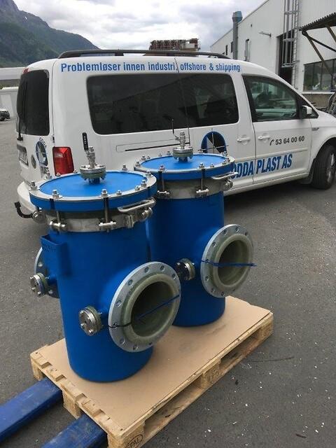 Sjøvannsfilter  GRE - Sjøvannsfilter  GRE