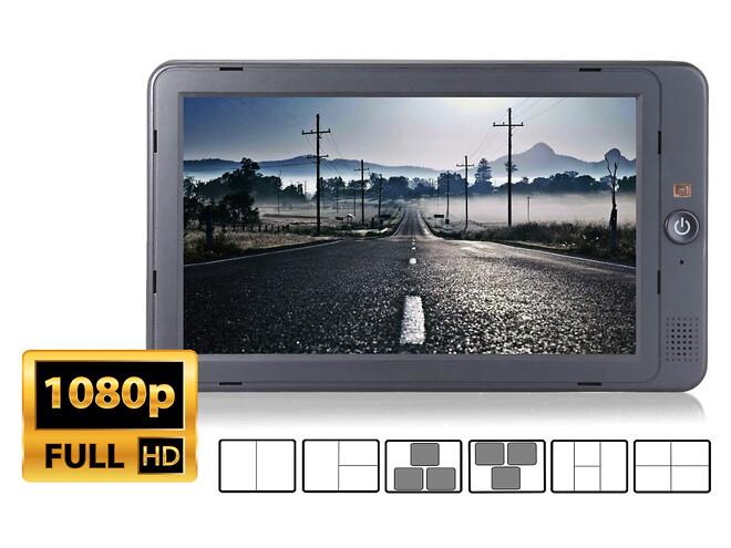 HD monitor skærm bil